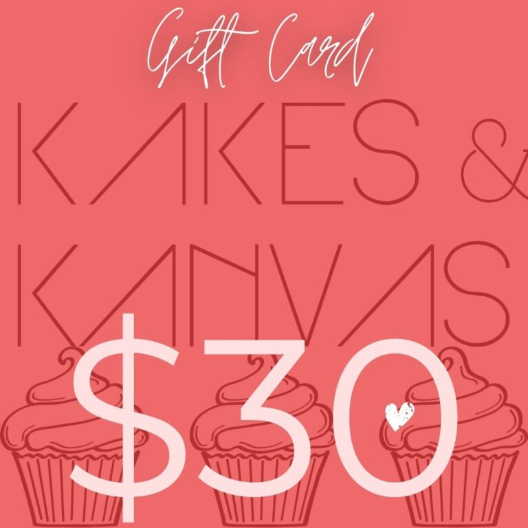 Kakes and kanvas cakes bakery calgary gift cards