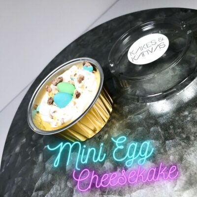 Easter mini egg cheesecake cake baked goods