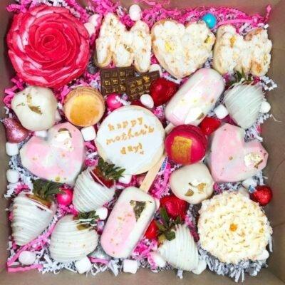 Mother's day treat box cupcake chocolate gift bakery calgary